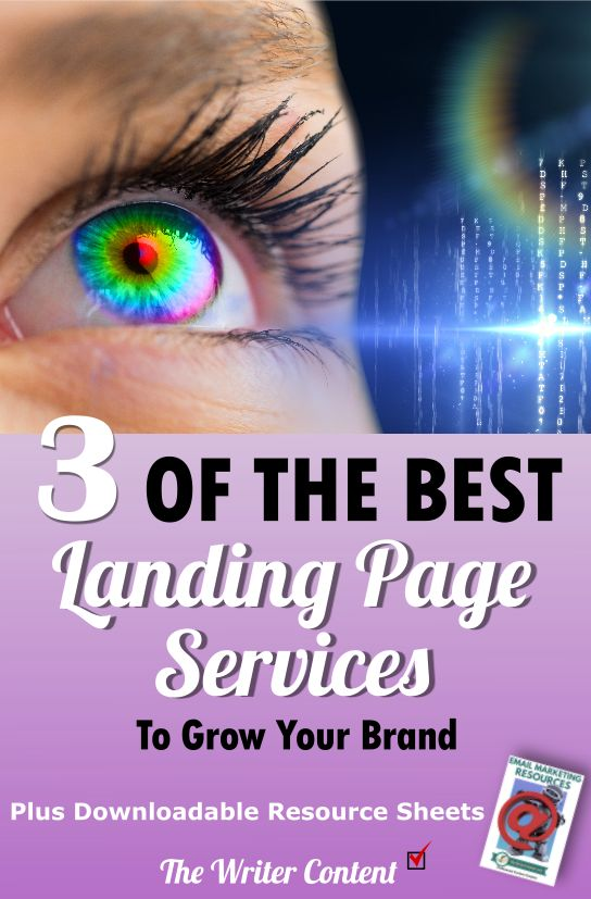 3 of the best landing page services to grow your brand