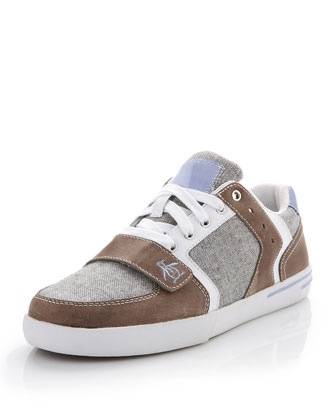 Moby Sneaker, Gray by Penguin at Last Call by Neiman Marcus.