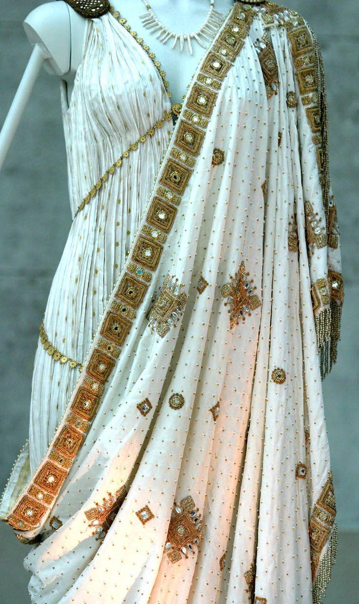 Vestido usado por Diane Kruger como Helena de Troia no filme Troia