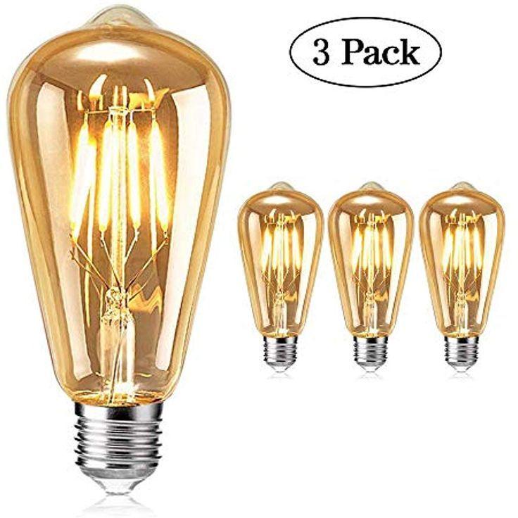 Edison Vintage Gluhbirne Tonitott Edison Led Gluhbirne Warm Licht E27 4w Vintage Antike Gluhb Edison Light Bulbs Light Bulb Decor