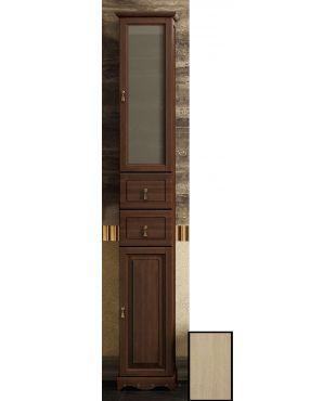 #Мебель для ванной #Opadiris Риспекто-30 Правый Белый Матовое стекло