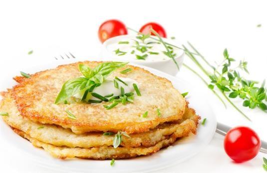 Оладьи из овсянки с зеленым луком - пошаговый рецепт с фото