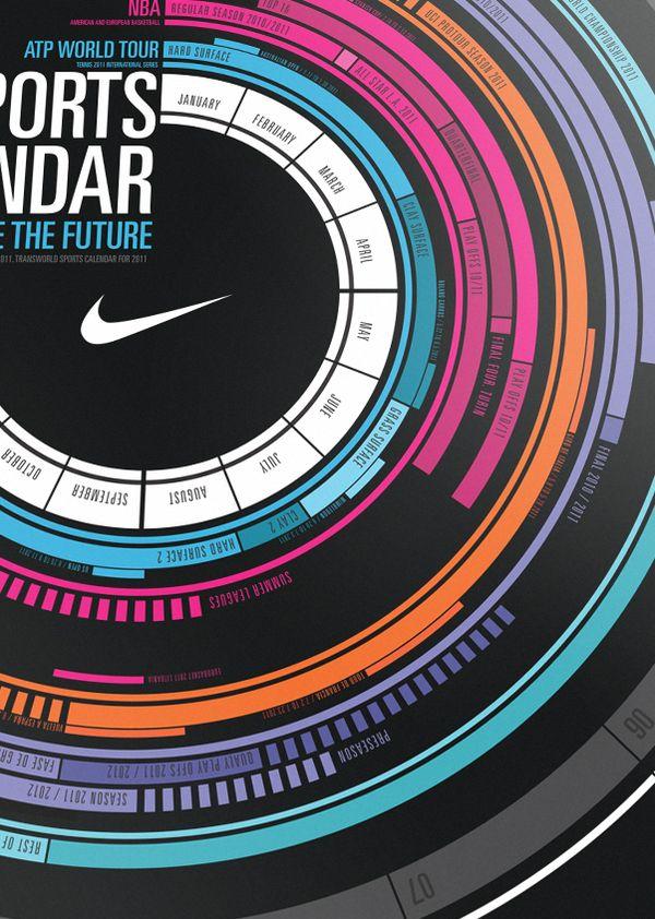 Write the Future - Calendar by Estudio AGraph , via Behance