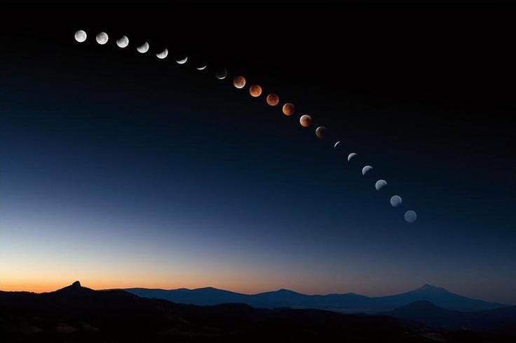 Лунное затмение в день зимнего солнцестояния в полнолуние / В этом году произошло очень редкое астрономическое событие - день зимнего солнцестояния 21 декабря совпал с днем полного лунного затмения. Это произошло впервые за последние 400 лет. Услилило эффект этого событие еще ...