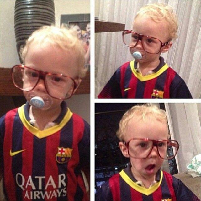 Davi Lucca Neymar's son