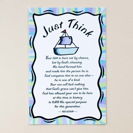 Spiritual Baby Shower Quotes: Baby Boy Congratulations- Just
