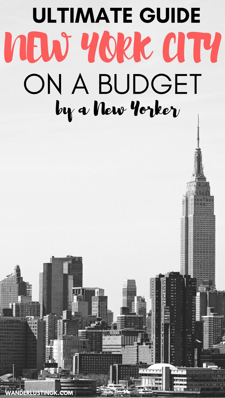 Traveling to NYC on a Budget? Read this New Yorker's ultimate guide to New York City's cheap sights and neighborhoods for tourists with off the beaten path tips