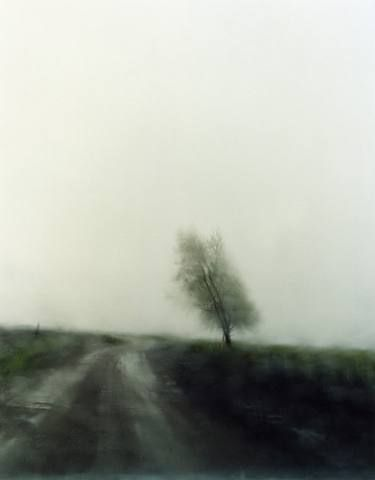 Todd Hido. Landscapes through car windshields