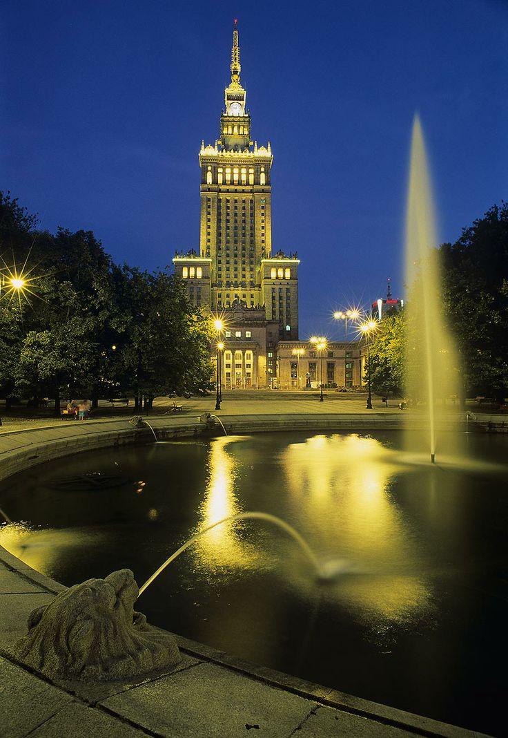 Pałac Kultury i Nauki, Warszawa (Warsaw), autor Miasto st. Warszawa - W. Panów (PZ Studio)