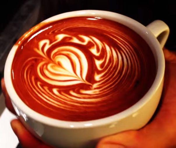 Amazing 77 Cappuccino Art, it just looks Stunning!