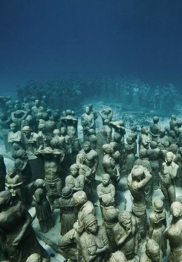 10 mysterious statues you can only see underwater ...