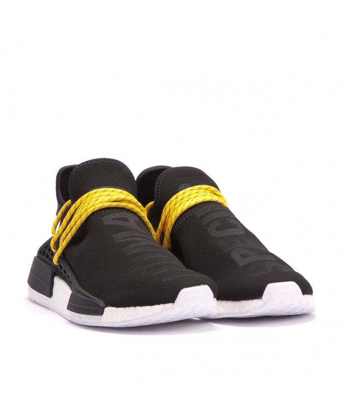 huge selection of a4700 1f1ba Cheap Adidas Nmd Human Race Black Sneakers Sale Uk