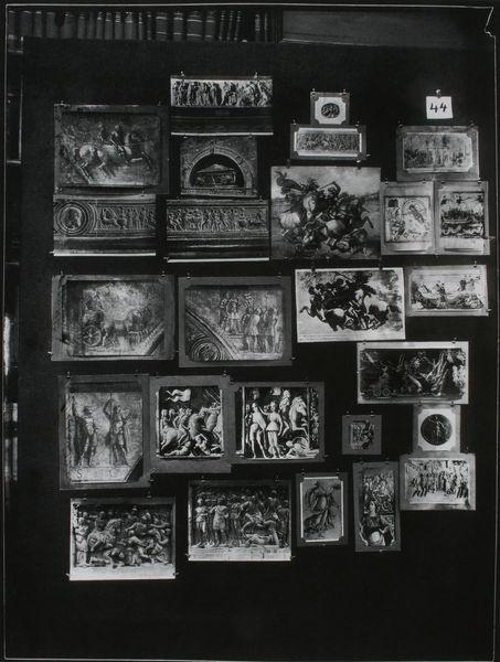 Aby Warburg       Der Bilderatlas Mnemosyne - Tafel 44       London / Warburg Institute       1928  Aby Warburg was a passionted pinner^^