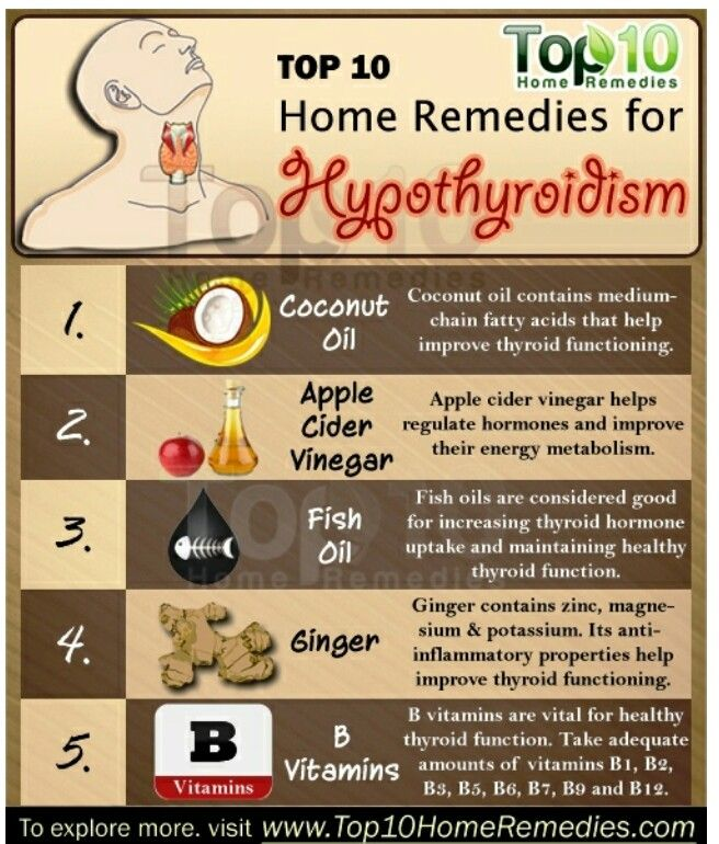 Top 10 Home Remedies for Hypothyroidism