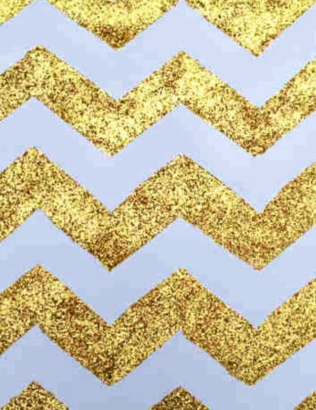 Gold chevron | Iphone wallpapers 4/4s | Pinterest