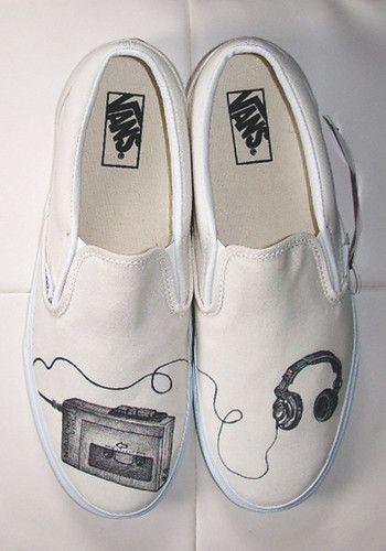 Vans,shoes,art.