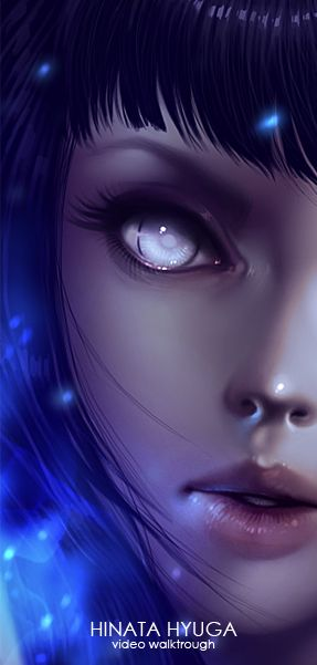 Hinata Hyuga VIDEO Walktrough Tutorial by ~Lavah on deviantART....amazing pic