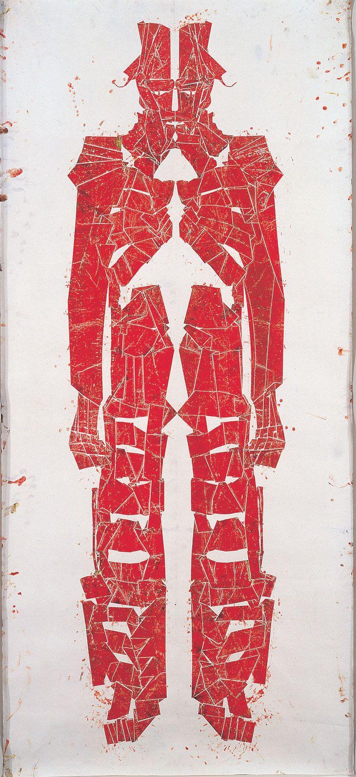 Matthew Monahan  Untitled (Red Figure)