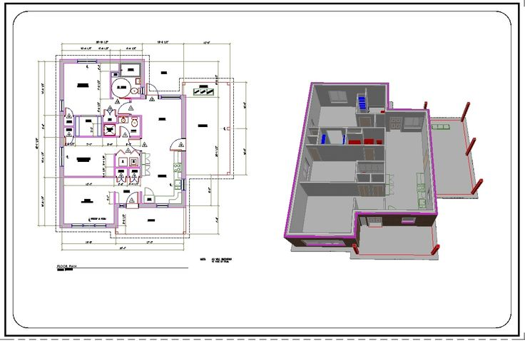 I will do 2D Architectural Services - Drafting & Calculations - Wiirk.Com - Freelance Marketplace | Hire Freelancers Here
