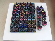 Seidenmalerei: 66 x Silk Art 50 ml, dampffixierbare Seidenmalfarbe