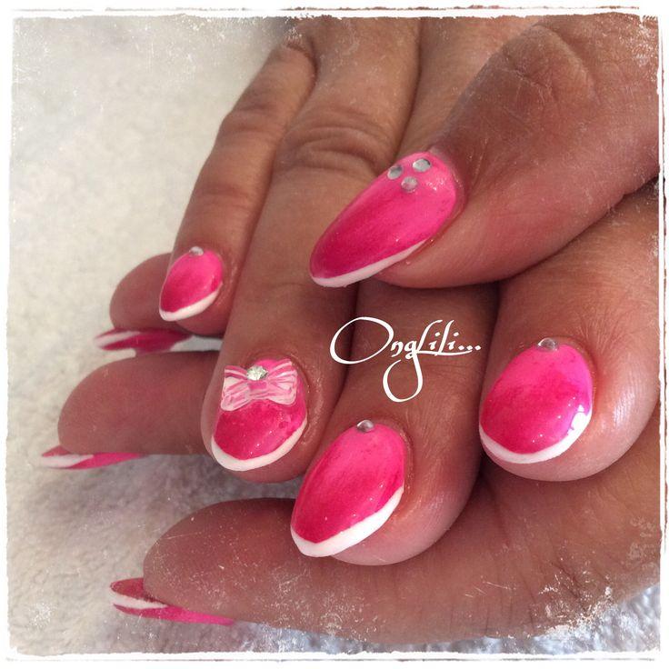 Les 25 meilleures id es de la cat gorie ongles en forme d 39 amande rose sur pinterest ongles de - Forme d ongle ...