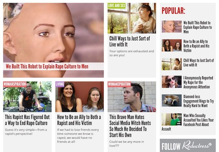 Rape jokes weren't funny. Until this feminist website made a bunch of them.