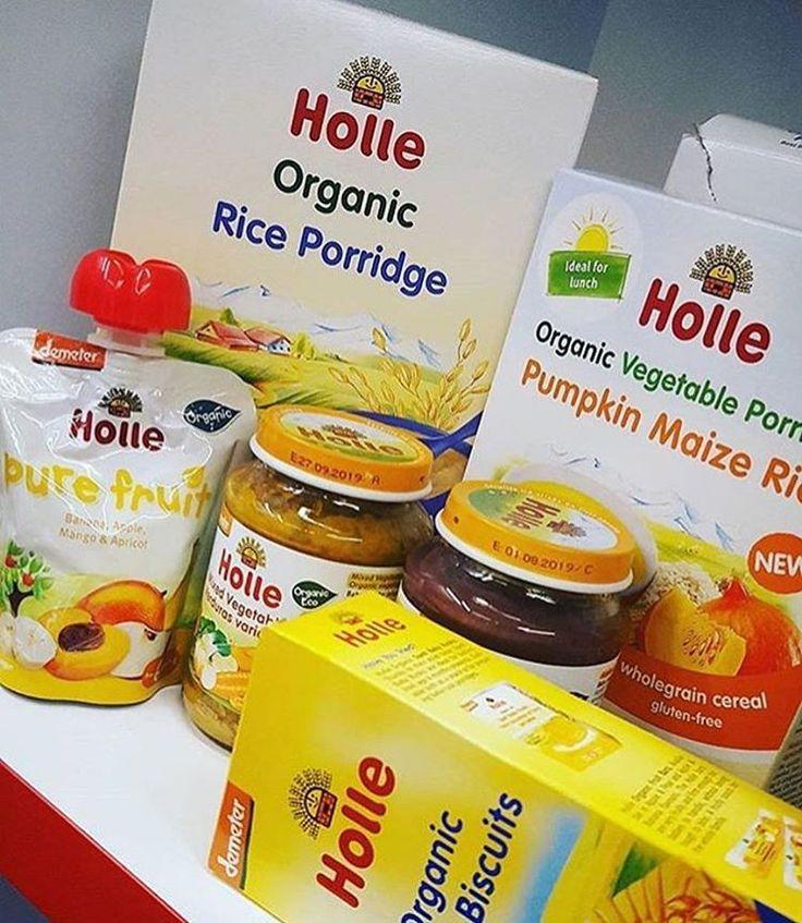 Bio baba ételek, gyümölcspürék, teák és tápszerek a Holle-tól!