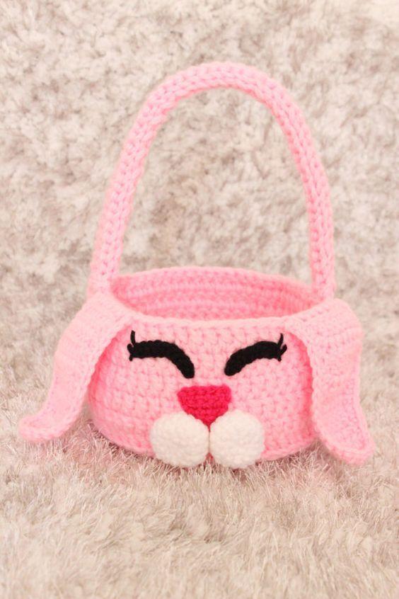Tuto Panier Lapin de Pâques au Crochet