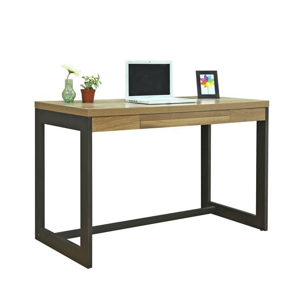 Kirby Heartwood Desk Officeworks. Perfect side table, pair with stools