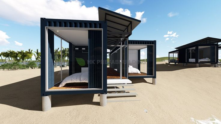 Deluxe Ocean View Modular Prefabricated 40feet Shipping Container House - China Ocean View Shipping House, Modular House   Made-in-China.com
