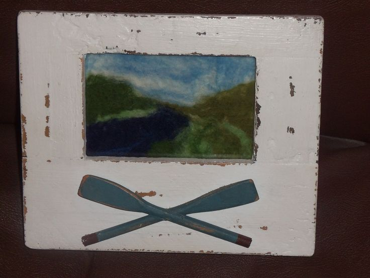 Framed Felted Picture, £17.00