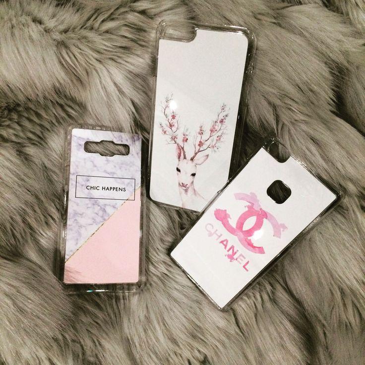 Stuff for girls! #etui #obudowa #case #chanel #deer #chichappens #marble #girls #akcesoria #telefon #różowy #pink