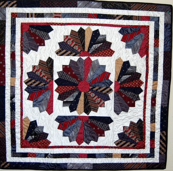 16 Best Tie Quilts Images On Pinterest Ties Bereavement