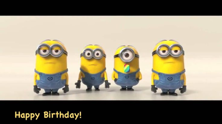 Minions Sing Happy Birthday ~ THANK YOU FOR SENDING IT ON MY SPECIAL DAY!!
