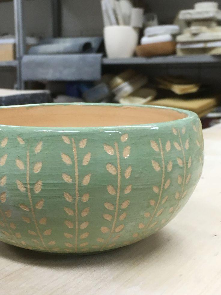 Sgrafitto bowl