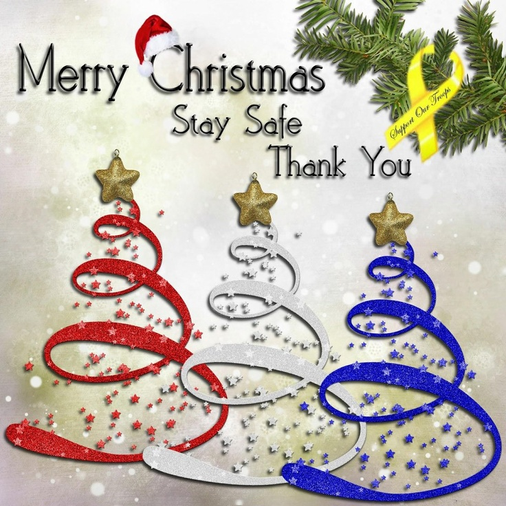 Merry Christmas Stay Safe Thank you | Patriotic/Loyal Lass ...