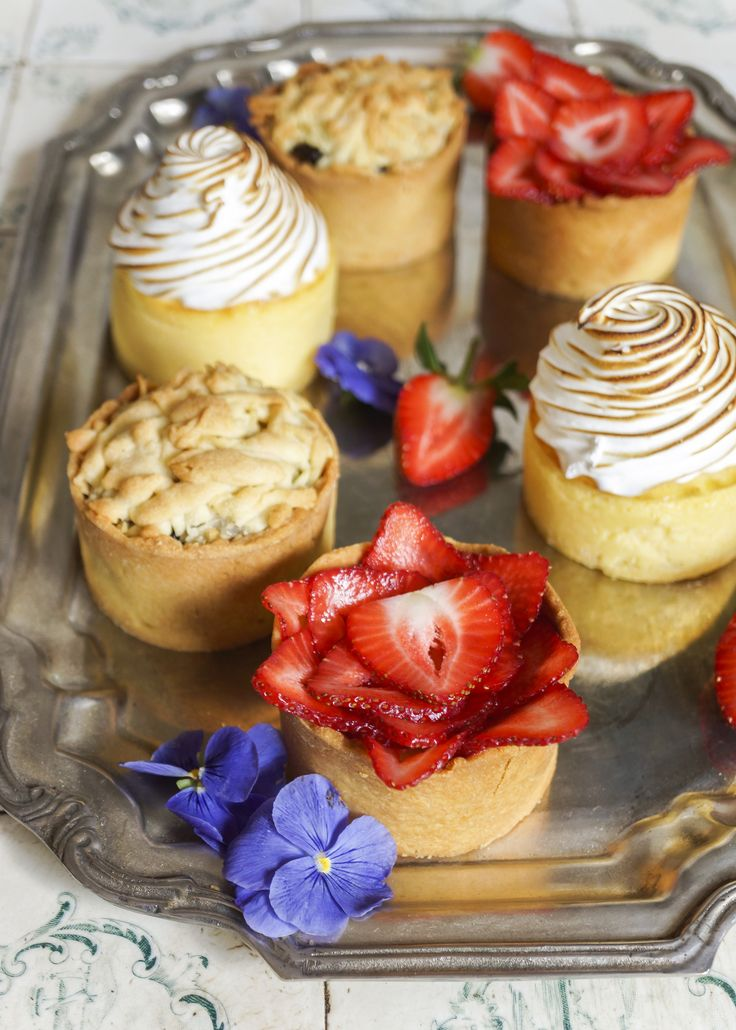 Selection of Tartlets