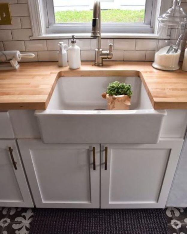 Die besten 25+ viktorianische Küchenspülen Ideen auf Pinterest - keramik waschbecken k che