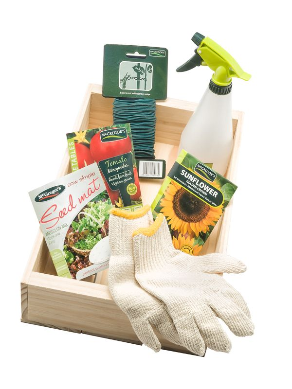 Seedling tray gift set by Trees Please! delivered within NZ