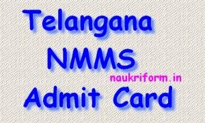 Telangana NMMS Admit Card 2015 bsetelangana.org Hall Ticket