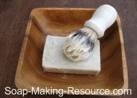 Shaving soap for the mister (and my legs too)