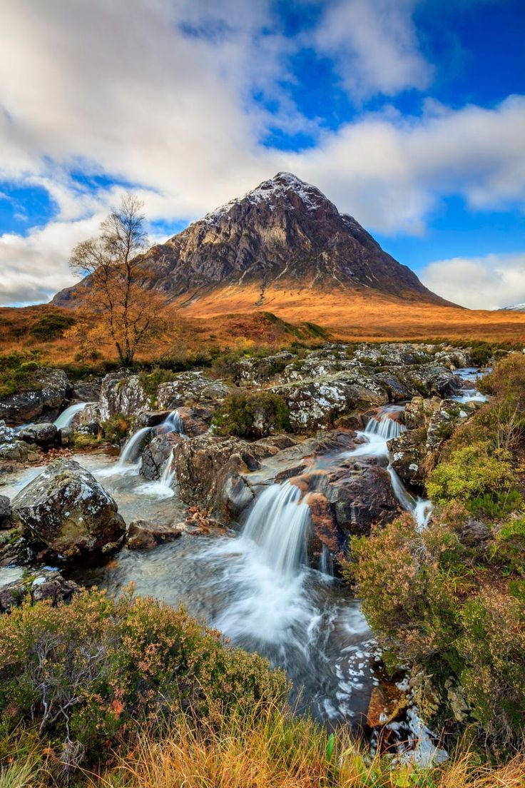 Glencoe Ecosse Paysage - River Coupall Waterfall by Andrew Ray - Photo 84159327 / 500px