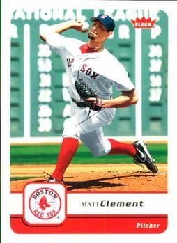 2006 Fleer #303 Matt Clement Front