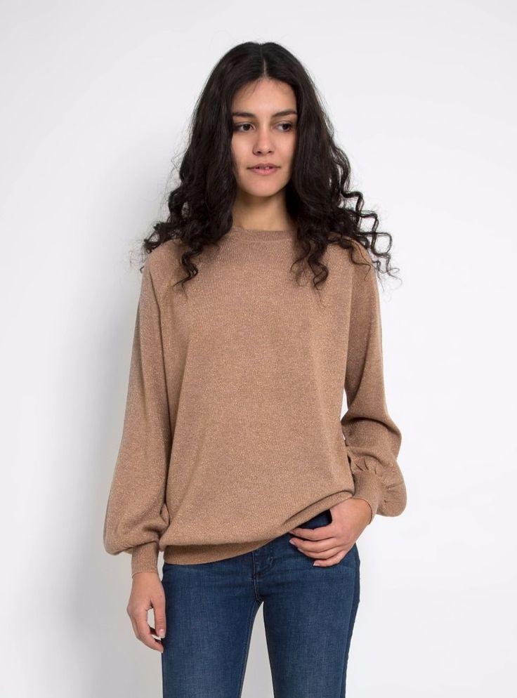 Tanya Merino Wool Lurex Sweater - Demylee