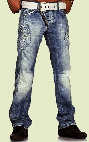 Широкие штаны с заниженной талией