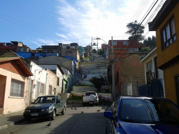 Escaleras de la ciudad, Coquimbo - CHILE