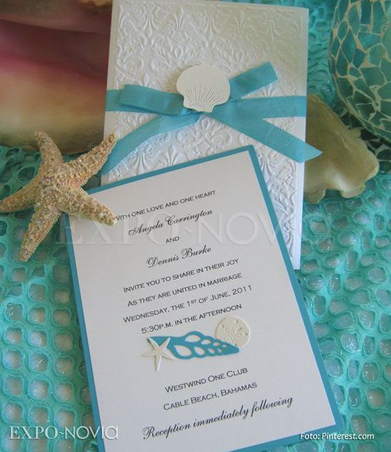 Invitaciones | Wedding ideas | Pinterest | Wedding, Beach weddings and Weddings