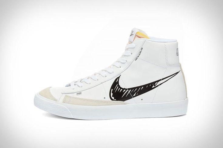 Nike Blazer Mid 77 Scribble Sneaker | Nike blazer mid 77, Nike ...