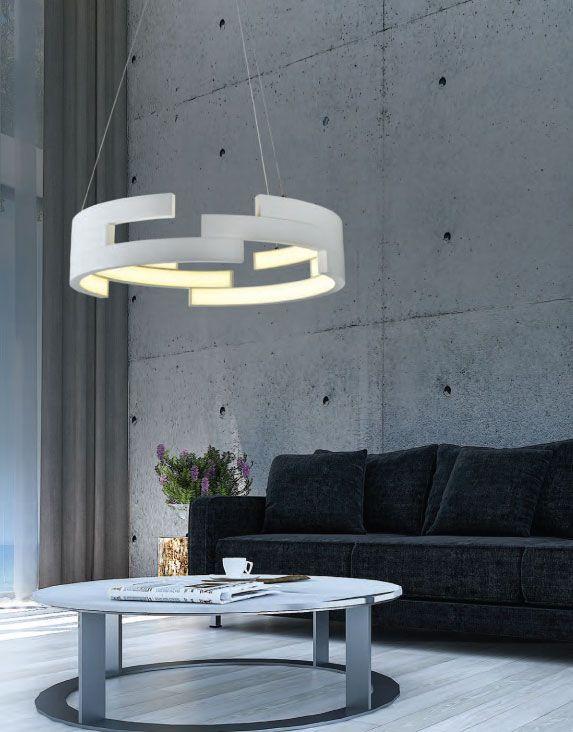 Ιδιαίτερος σχεδιασμός ιδανικός για χώρους υποδοχής ή και το σαλόνι σας, με ενσωματωμένο LED για οικονομία αλλά μέγιστη απόδοση φωτισμού