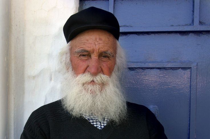 Travel Photography Greece,  Old  Fisherman